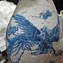 2012.05.11 160P Puzzle Vase 藍鳳和鳴 (14)