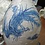 2012.05.11 160P Puzzle Vase 藍鳳和鳴 (15)
