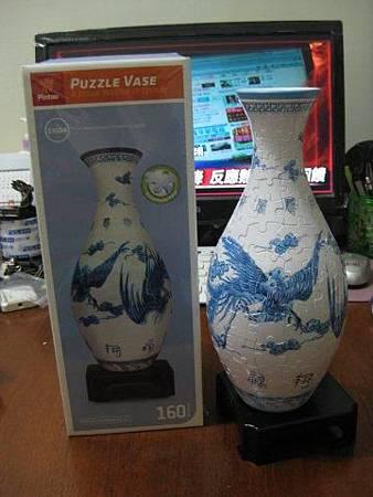2012.05.11 160P Puzzle Vase 藍鳳和鳴 (19)