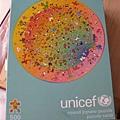 2012.09.29 500P UNICEF round puzzle.JPG
