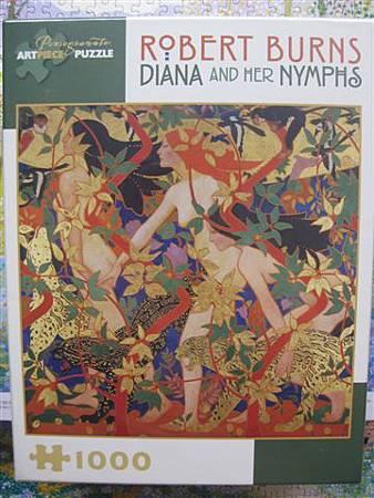 2013.02.13 1000片Diana and Her Nymphs.JPG