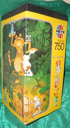 MR. UNIVERSE 750 Piece Puzzle #8520