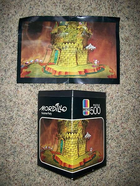 Vintage Heye Mordillo 500 Piece Jigsaw Puzzle  - Surprise Party