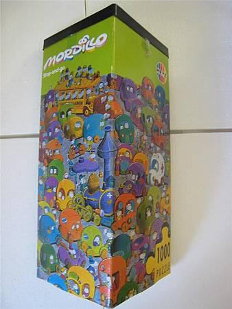 1000 Pcs - STOP 'N' GO -1998 -misisng piece - Puzzle Sale