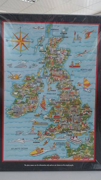 Waddingtons 500P British Isles,$247