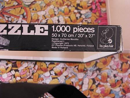 1000P high noon (normal box ) playfair, 1973