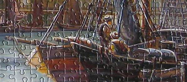 2011 3000P New Day at the Harbour-detail (1).bmp