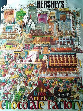 2014.06 1000pcs HERSHEY'S Chocolate Factory (1)