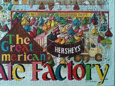 2014.06 1000pcs HERSHEY'S Chocolate Factory (2)