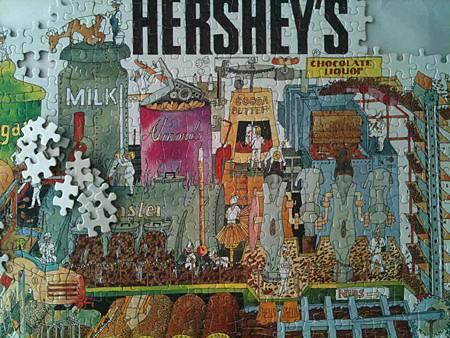 2014.06 1000pcs HERSHEY'S Chocolate Factory (3)