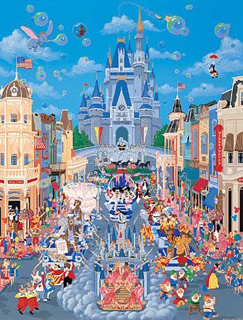 150片迪士尼拼圖 塑膠材質拼圖 DS-150-717 *絕版商品