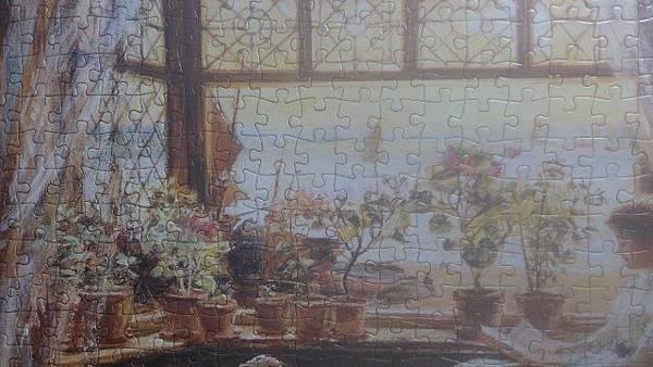 2014.10.23 500pcs Reading by the Window (4).jpg