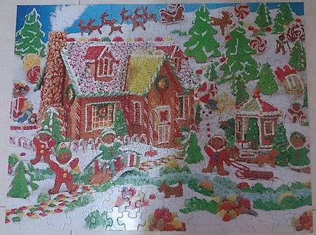 2014.12.04 400pcs Gingerbread Fun