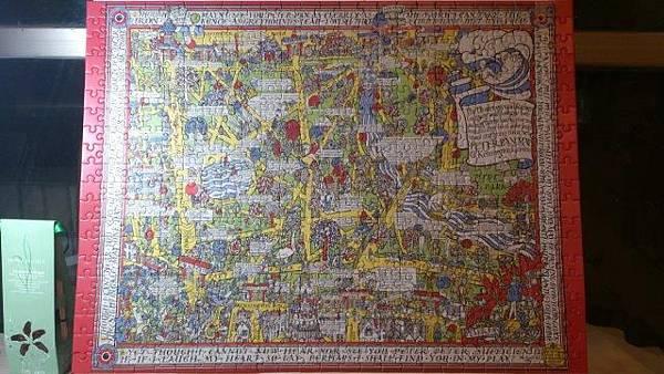 2014.12.29 500pcs Peter Pan Map of Kensington Gardens (2).jpg