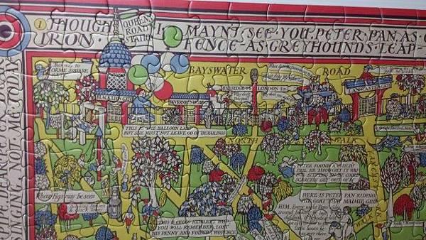 2014.12.29 500pcs Peter Pan Map of Kensington Gardens (4).jpg