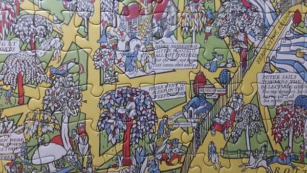 2014.12.29 500pcs Peter Pan Map of Kensington Gardens (10).jpg