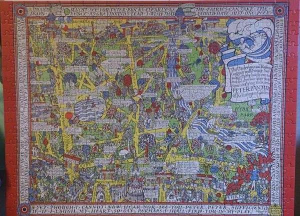 2014.12.29 500pcs Peter Pan Map of Kensington Gardens (15).jpg