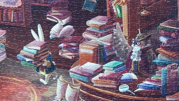 2014.02.02-02.03 2000pcs Alice in the Wonderland - Magic Library (5).jpg