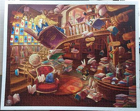 2014.02.02-02.03 2000pcs Alice in the Wonderland - Magic Library (8).jpg