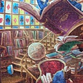 2014.02.02-02.03 2000pcs Alice in the Wonderland - Magic Library (10).jpg