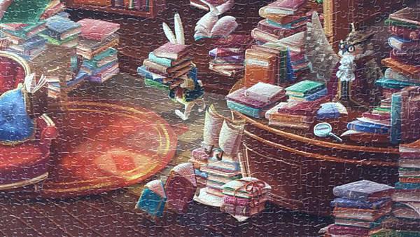 2014.02.02-02.03 2000pcs Alice in the Wonderland - Magic Library (11).jpg