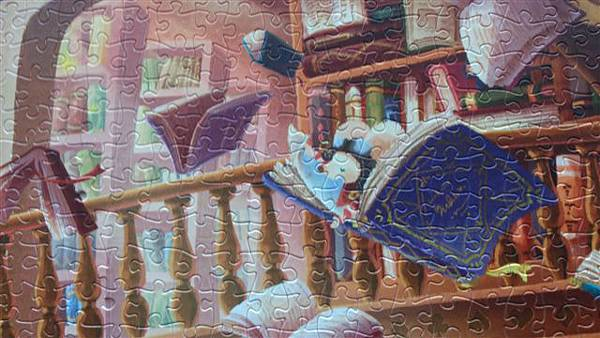 2014.02.02-02.03 2000pcs Alice in the Wonderland - Magic Library (12).jpg