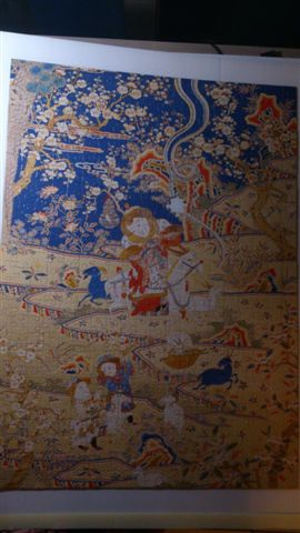 2015.02.04 520pcs Tapestry-Embroidery of Nine Goats Opening the New Year 緙繡九羊啓泰拼圖 (3).jpg
