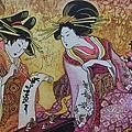 2015.02.24 1000pcs Geisha Japan Batik (3).jpg