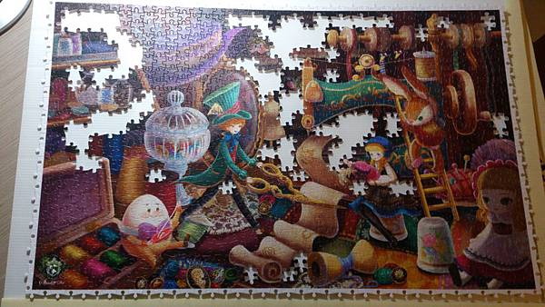 2015.02.26 1000pcs Alice in Wonderland - The Hatter (3).jpg