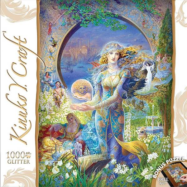 Masterpieces 1000psc Kinuko Craft - Cybele's Secret