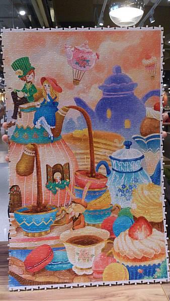 2016.06.06 2000pcs Alice in the Wonderland - Tea Time  (7).jpg