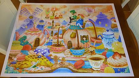 2015.06.07 2000pcs Alice in the Wonderland - Tea Time (3).jpg