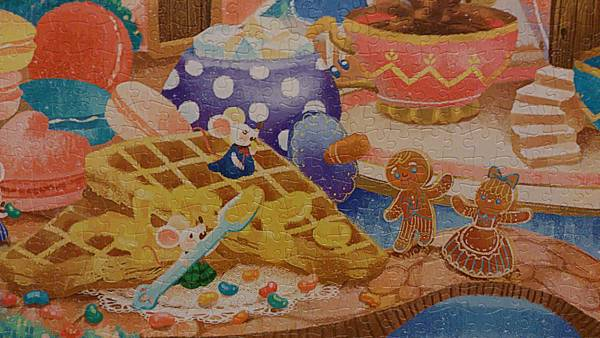 2015.06.07 2000pcs Alice in the Wonderland - Tea Time (5).jpg