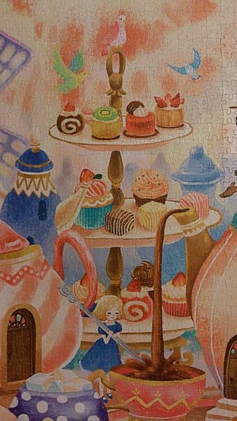 2015.06.07 2000pcs Alice in the Wonderland - Tea Time (6).jpg
