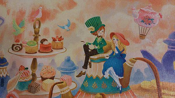 2015.06.07 2000pcs Alice in the Wonderland - Tea Time (8).jpg