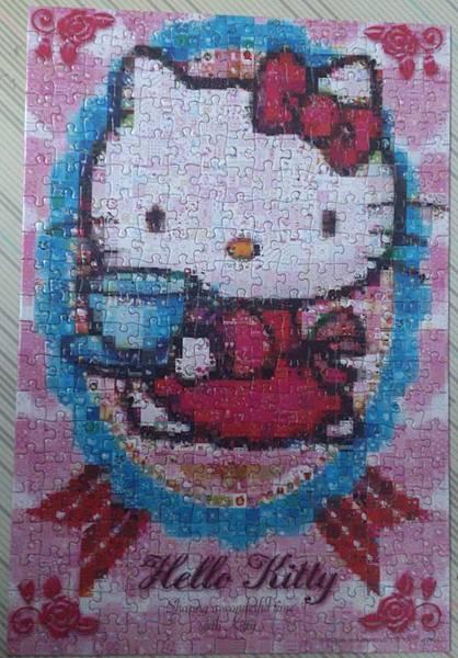 2015.09.12 300pcs Hello Kitty Mosaic Art (1).jpg