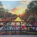2015.09.13 1000pcs Beautiful Sunrise over Amsterdam (1).jpg