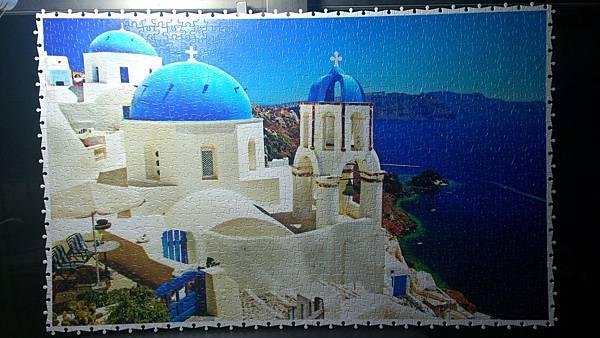 2015.09.15 1000pcs White-blue Santorini, Greek (1).jpg
