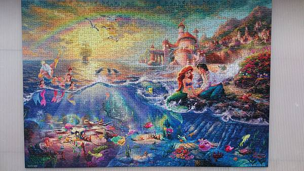 2016.04.03 1000pcs The Little Mermaid 陽光照in daylight (1).jpg