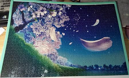 2016.11.22 1000pcs Tranquil Night of Stars - Blossoms of Stars (2).jpg