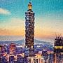 2016.12.06 1000pcs The Beautiful Sunset of Taipei 台北日落之美 (2).jpg