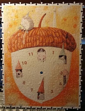 2017.01.04 300pcs Acorn House (Clock).jpg