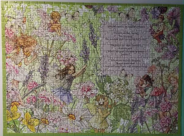 2017.04.12 500pcs Butterfly Haven - Flower Fairies (1).jpg