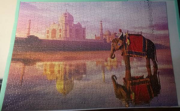 2017.04.26 1000pcs Elephant at Taj Mahal (2).jpg
