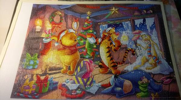 2017.06.03 1000pcs Winnie the Pooh Christmas Fun (1).JPG