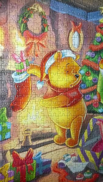 2017.06.03 1000pcs Winnie the Pooh Christmas Fun (5).JPG