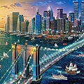 Castorland 500P Brooklyn Bridge, New York