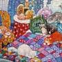 2017.08.03 300pcs Blue Bedroom Cats 悠閒時光 (2).jpg