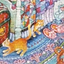 2017.08.03 300pcs Blue Bedroom Cats 悠閒時光 (3).jpg
