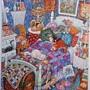 2017.08.03 300pcs Blue Bedroom Cats 悠閒時光 (4).jpg